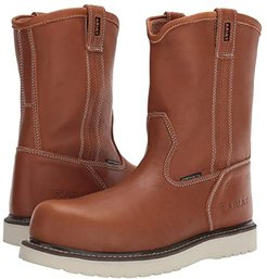 Rebar Wedge Pull-On Composite Toe (Golden Grizzly) Men's Work Boots