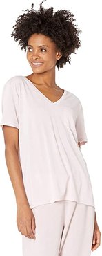 Tranquil Pocket Tee (Light Pink) Women's Clothing
