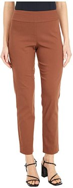 Pull-On Ankle Pants (Rust) Women's Dress Pants