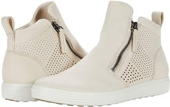 Soft 7 Perforated Bootie (Limestone) Women's Shoes