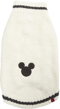 Cozychic Classic Disney(r) Mickey Mouse Pet Sweater (Cream/Carbon) Dog Clothing