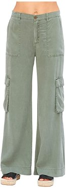 Nanette Pants in Soft Twill (Saguara Pigment) Women's Casual Pants