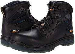 6 Turbo H2O CSA Carbon Toe (Black) Men's Work Boots