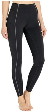 Thermopolis Tights (Performance Black/Graphite) Women's Casual Pants