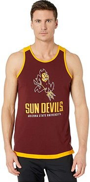 Arizona State Sun Devills Field Day Fashion Tank (Maroon/Yellow Gold) Men's Clothing