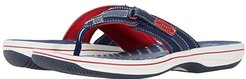 Breeze Sea (Navy/Red Synthetic) Women's Sandals