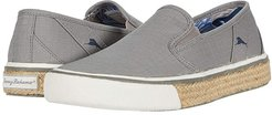 Pacific Palms (Grey Ripstop) Men's Slip on  Shoes