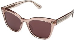 Marianela (Washed Rose/Burgundy Gold) Fashion Sunglasses