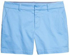 Hollywood 5 Stretch Shorts with Velcro Brand Closure and Magnetic Fly (Marina) Women's Shorts