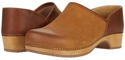 Brenna (Tan Burnished Suede) Women's Shoes