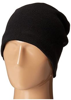 Fleece-Lined Barca Hat (Black) Cold Weather Hats