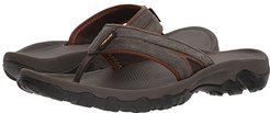 Katavi 2 Thong (Black Olive) Men's Sandals