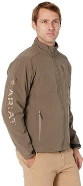 Logo 2.0 Softshell Jacket (Morel/Camo) Men's Clothing
