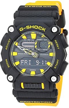 GA900A-1A9 (Black/Yellow) Watches