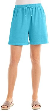 Jersey Shorts (Bluefin) Women's Shorts