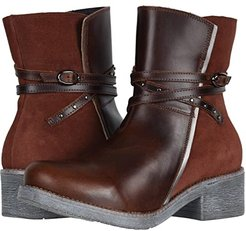 Poet (Buffalo Leather/Rust Suede/Mirror Leather) Women's Boots