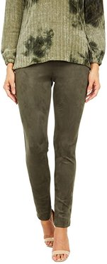 Ultra Suede Pants (Olive) Women's Casual Pants
