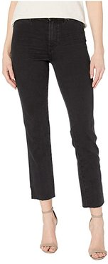 Cindy Straight w/ Seaming Details Jeans in Lights Out (Lights Out) Women's Jeans