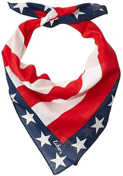 Stars and Stripes Bandana (Red) Scarves