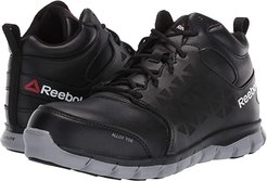 Sublite Cushion Work Alloy Toe EH Mid (Black) Women's Work Boots