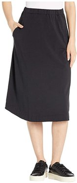 Long Avery Skirt (Black) Women's Skirt