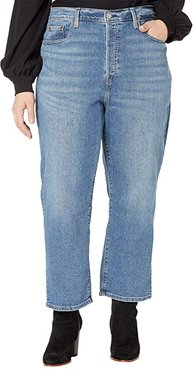 Ribcage Straight Ankle (Mind Your Own Finish) Women's Jeans