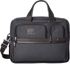 Alpha 3 Expandable Organizer Laptop Brief (Anthracite) Luggage