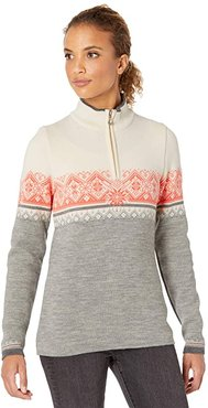 Moritz Feminine (E-Light Charcoal/Off-White/Smoke) Women's Sweater