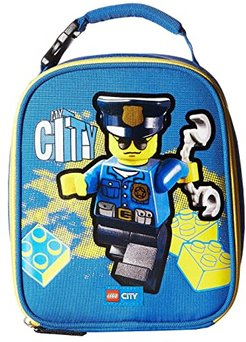 City Police Lunch Bag (Blue) Duffel Bags