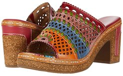 Guayas (Red Multi) Women's Shoes