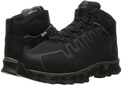 Powertrain Alloy Toe Met Guard EH (Black Synthetic) Men's Work Lace-up Boots