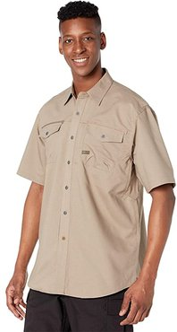 Rebar Workman Short Sleeve Work Shirt (Brindle) Men's Clothing