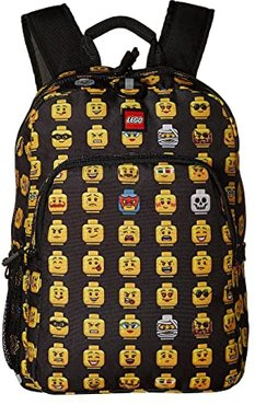 Minifigure Heritage Classic Backpack (Black) Backpack Bags