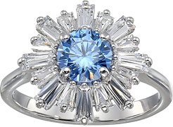 Sunshine Ring (CZ Fancy Light Blue) Ring