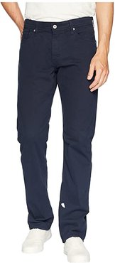 The Graduate Tailored Straight SUD Sueded Stretch Sateen (New Navy) Men's Casual Pants