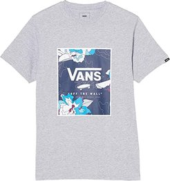 Print Box Tee (Athletic Heather/Dress Blues Paint By Numbers) Men's T Shirt