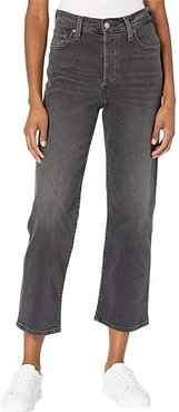 Ribcage Straight Ankle (Worse for Wear) Women's Jeans