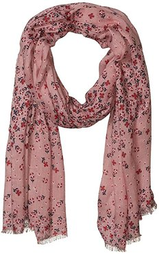 Soft Fringe Scarf (Sweethearts and Flowers) Scarves