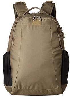 Metrosafe LS350 Anti-Theft 15L Backpack (Earth Khaki) Backpack Bags