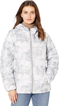 Cirruslite Down Hooded Jacket (Snow) Women's Clothing