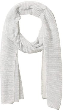 Mini Metallic Pleated Wrap (Silver) Scarves