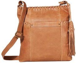 Ladera Crossbody by The Sak Collective (Tobacco Whipstitch) Handbags