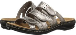 Leisa Cacti Q (Pewter Leather) Women's Sandals