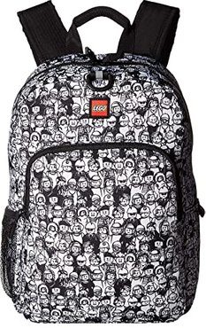 Minifigure Color-Me Heritage Classic Backpack (Black/White) Backpack Bags