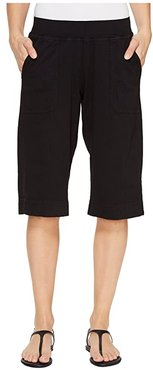 Key Largo Pedal Pusher (Black) Women's Shorts