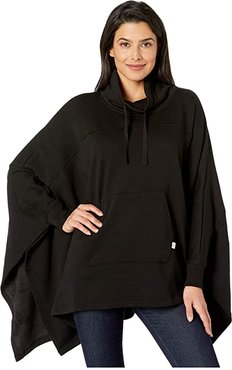 Charlynne Poncho (Black) Women's Clothing