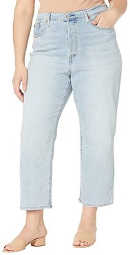 Ribcage Straight Ankle (Here Nor There) Women's Jeans