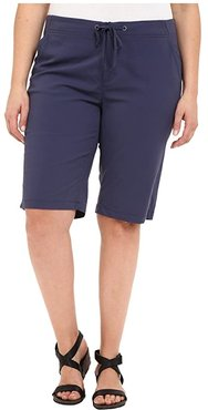 Plus Size Anytime Outdoor Long Short (Nocturnal) Women's Shorts