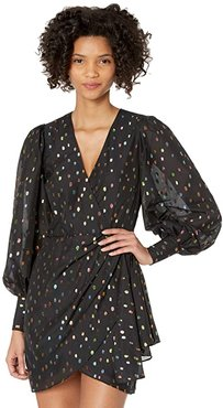 All Or Nothing Dress (Party Dot Black) Women's Clothing