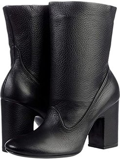 Gem Soft leather Ankle Boot (Black) Women's Shoes